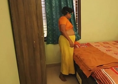 New Indian Bhabhi Ready In the matter of Get Lady-love In Bedroom