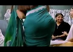 Round Ass Dikiling in saree