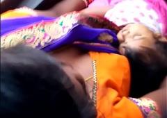 Telugu kavya aunty boobs in bus20160717 061519