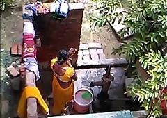 desi bhabhi hot webcam hidden bathing video part 3