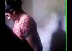Spying tamil mom bath