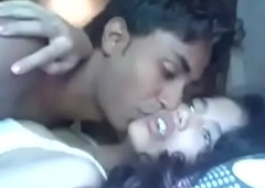 Indian little shaver enjoying with Girlfriend