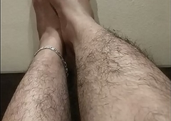 Indian feets hairy pussy
